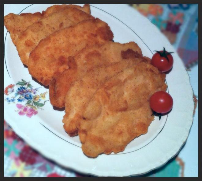 Filet de frango a milanesa