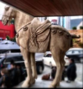 Cavalo da porta