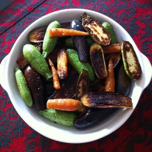 vegetais ao balsâmico
